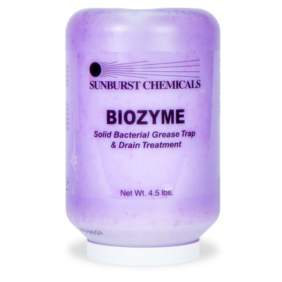 Biozyme - Solid Bacterial Enzyme Drain Treatment 1/4.5LB